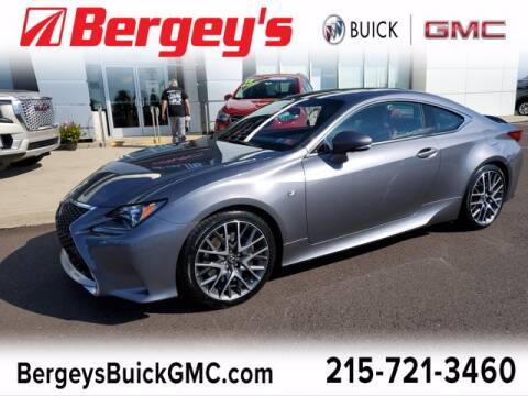 2017 Lexus RC 350 for sale at Bergey's Buick GMC in Souderton PA