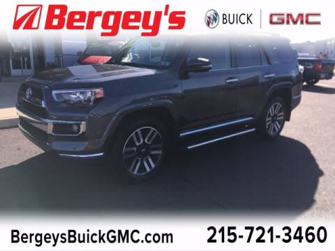 2018 Toyota 4Runner for sale at Bergey's Buick GMC in Souderton PA