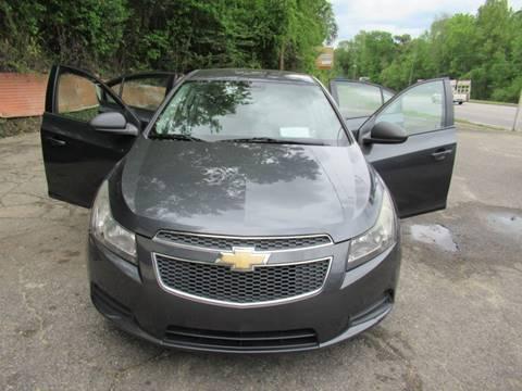 2013 Chevrolet Cruze for sale at Mc Calls Auto Sales in Brewton AL