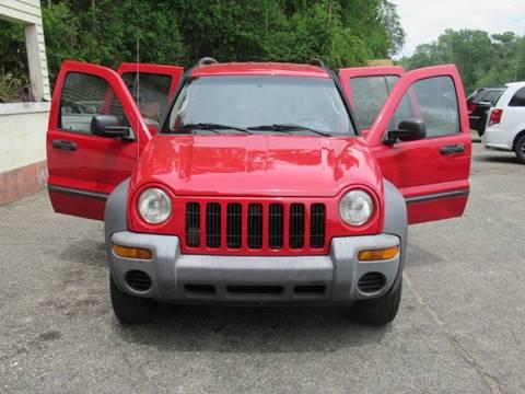 2004 Jeep Liberty for sale at Mc Calls Auto Sales in Brewton AL