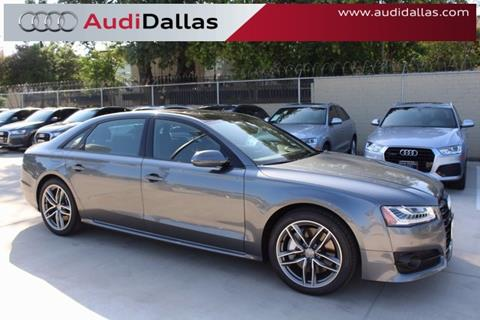 2017 Audi A8 L for sale in Dallas, TX