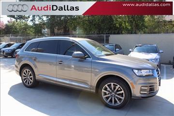 2017 Audi Q7 for sale in Dallas, TX
