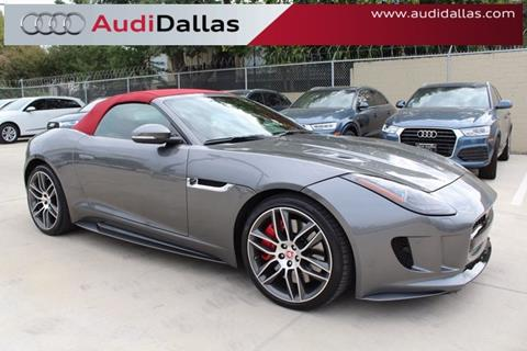 2016 Jaguar F-TYPE for sale in Dallas, TX