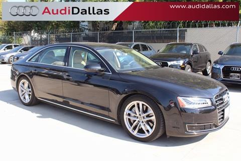 2015 Audi A8 L for sale in Dallas, TX