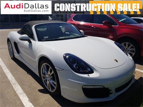 2016 Porsche Boxster for sale in Dallas, TX