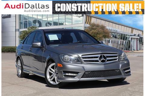 2012 Mercedes-Benz C-Class for sale in Dallas, TX