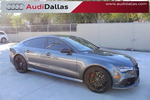 2017 Audi RS 7 for sale in Dallas, TX