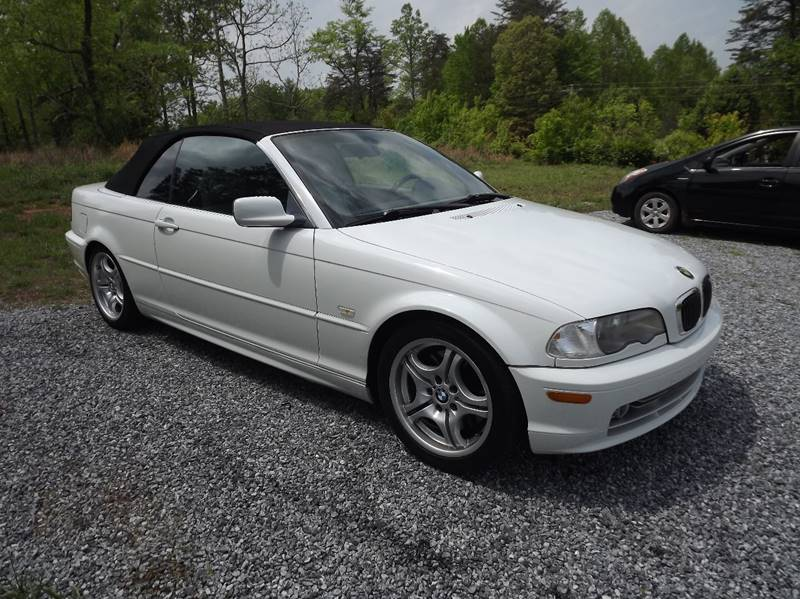 2002 Bmw 3 Series 330Ci 2dr Convertible In Lenoir NC  Judys Cars