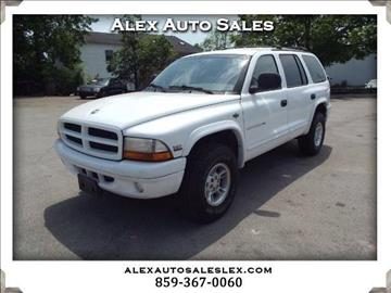 1999 Dodge Durango for sale in Lexington, KY