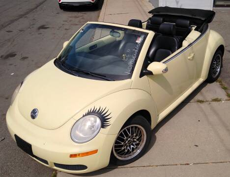 2006 Volkswagen New Beetle Convertible for sale at Choice Motor Group in Lawrence MA