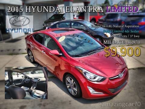 2015 Hyundai Elantra for sale at Choice Motor Group in Lawrence MA