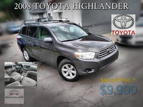 2008 Toyota Highlander for sale at Choice Motor Group in Lawrence MA