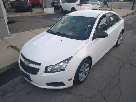 2014 Chevrolet Cruze for sale at Choice Motor Group in Lawrence MA