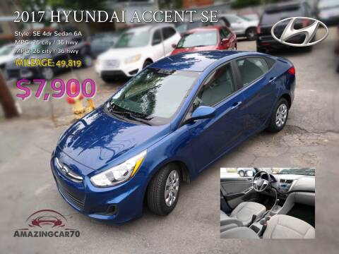 2017 Hyundai Accent for sale at Choice Motor Group in Lawrence MA