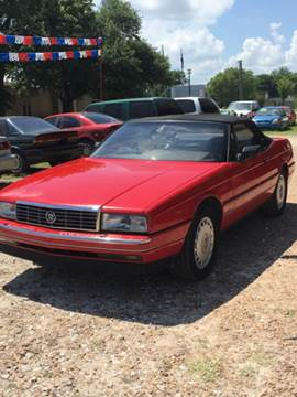 1990 Cadillac Allante for sale in Malakoff, TX