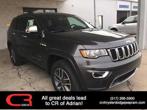 2019 Jeep Grand Cherokee Limited for sale at CR Chrysler Dodge Jeep Ram of Adrian in Adrian MI