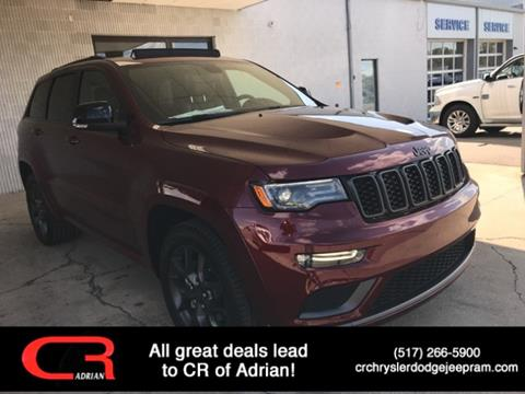 2020 Jeep Grand Cherokee Limited for sale at CR Chrysler Dodge Jeep Ram of Adrian in Adrian MI