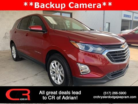 2019 Chevrolet Equinox for sale in Adrian, MI