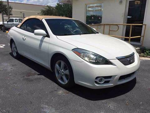2007 Toyota Camry Solara for sale in North Fort Myers, FL