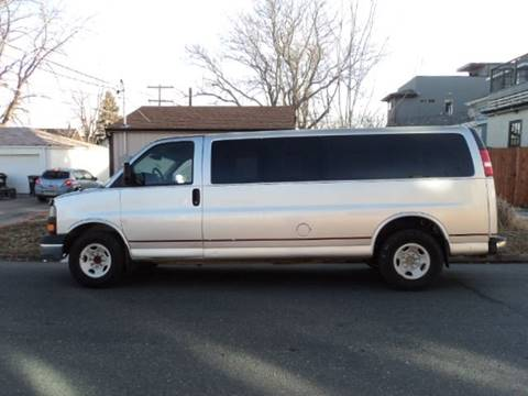 2012 GMC Savana Passenger for sale in Denver, CO