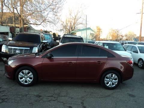 2012 Chevrolet Cruze for sale in Denver, CO