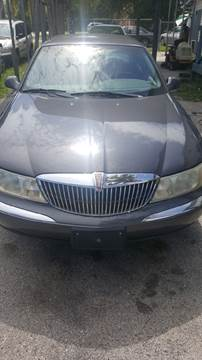 1998 Lincoln Continental for sale in Deleon Springs, FL