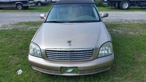 2005 Cadillac DeVille for sale in Deleon Springs, FL