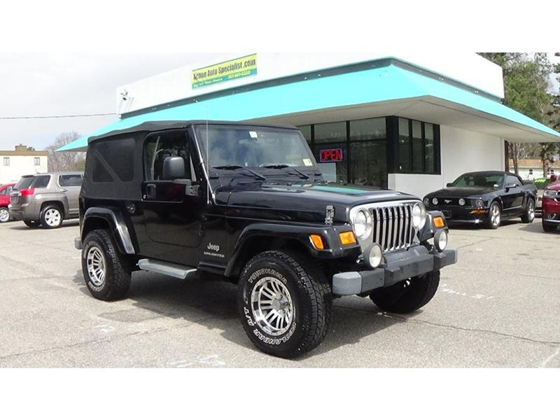 2006 Jeep Wrangler For Sale At Act 1 Auto In Norfolk VA