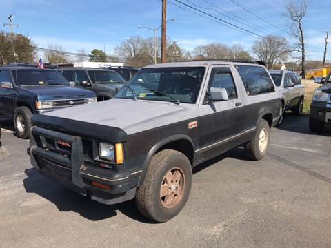 1989 GMC S-15 Jimmy for sale in Chesapeake, VA
