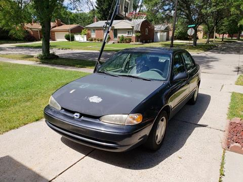 2001 Chevrolet Prizm for sale in Taylor, MI