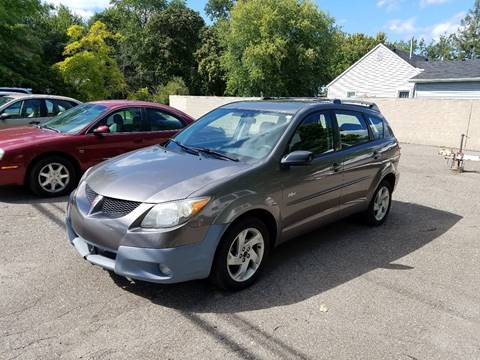 2003 Pontiac Vibe for sale at People's Choice Auto Sales in Taylor MI
