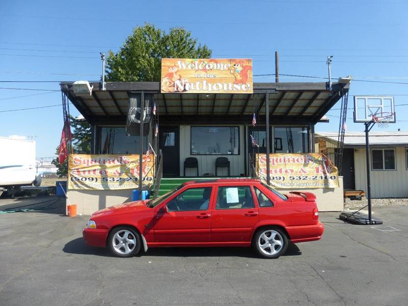 1998 VOLVO S70 T5 4DR TURBO SEDAN red s70 turbo 5  23 inline 5cyl eng at ac sunroof