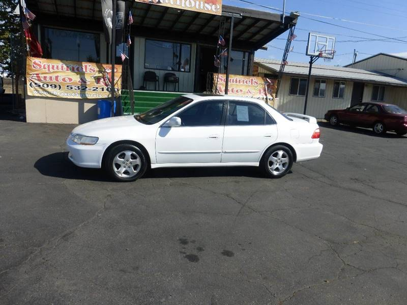 1999 HONDA ACCORD EX V6 4DR SEDAN white ex v6 at fwd leather sunroofwe finance with t