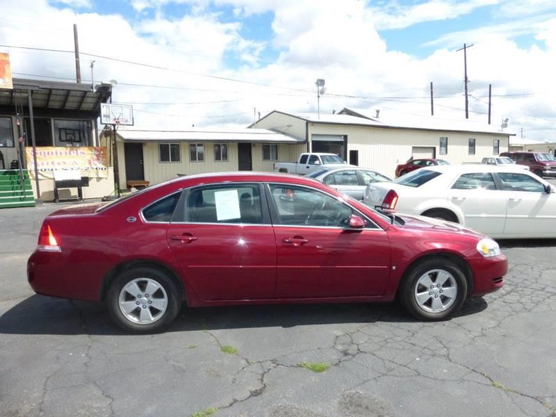 2007 CHEVROLET IMPALA LT 4DR SEDAN burgundy lt package at ac v6 fwd clean car  air fil
