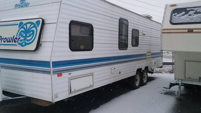 1995 FLEETWOOD PROWLER white 0 miles VIN 1EC1X2725S2233461