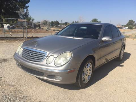 2005 Mercedes-Benz E-Class for sale in Victorville, CA