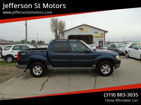 2003 Ford Explorer Sport Trac for sale in Waterloo, IA