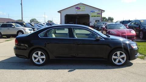 2013 Volkswagen Passat for sale at Jefferson St Motors in Waterloo IA