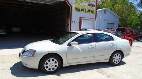 2006 Mitsubishi Galant for sale at Jefferson St Motors in Waterloo IA