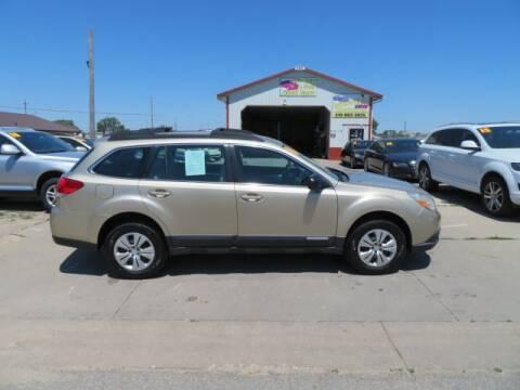 2010 Subaru Outback for sale at Jefferson St Motors in Waterloo IA
