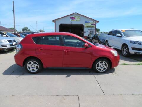 2010 Pontiac Vibe for sale at Jefferson St Motors in Waterloo IA