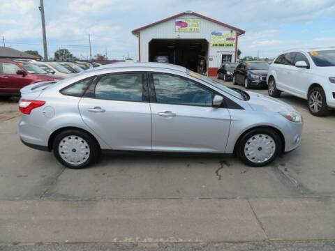 2014 Ford Focus for sale at Jefferson St Motors in Waterloo IA