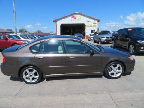 2009 Subaru Legacy for sale at Jefferson St Motors in Waterloo IA