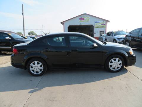2014 Dodge Avenger for sale at Jefferson St Motors in Waterloo IA