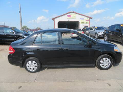 2010 Nissan Versa for sale at Jefferson St Motors in Waterloo IA