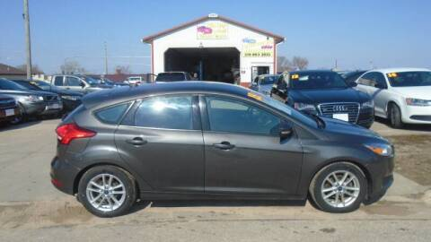 2015 Ford Focus for sale at Jefferson St Motors in Waterloo IA