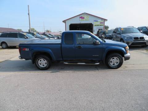 2005 Chevrolet Colorado for sale at Jefferson St Motors in Waterloo IA