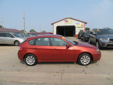 2009 Subaru Impreza for sale at Jefferson St Motors in Waterloo IA