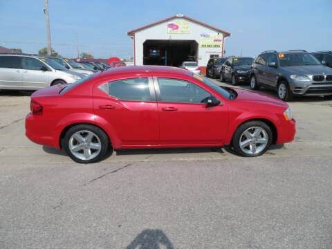 2013 Dodge Avenger for sale at Jefferson St Motors in Waterloo IA