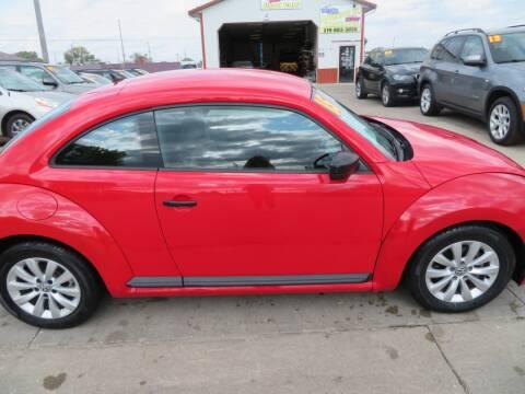 2015 Volkswagen Beetle for sale at Jefferson St Motors in Waterloo IA